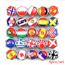 Car wheel Motorcycle Bike Bus Tire Valve Caps Spain England Italy Germany,Russia,Singapore,Fance,Sweden,New Zealand Japan