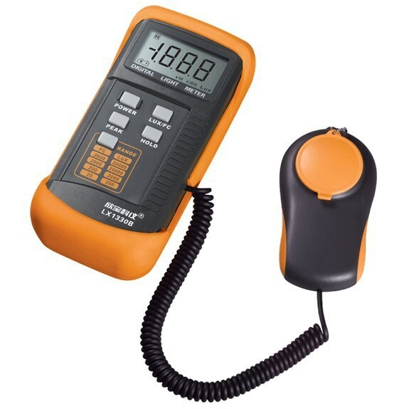 DIGITAL LUX METER LX1330B Digital Illuminance Light Meter LX1330B 0-200,000 Lux Luxmeter<br>