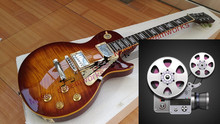 firehawk China OEM firehawk Electric guitar G 1959 R9 Tiger Flame Electric guitar There have a video