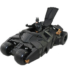 The Dark Knight Batman Batmobile Tumbler Black Car Vehecle Toys Action Figure Collection Model Toy 22*12cm