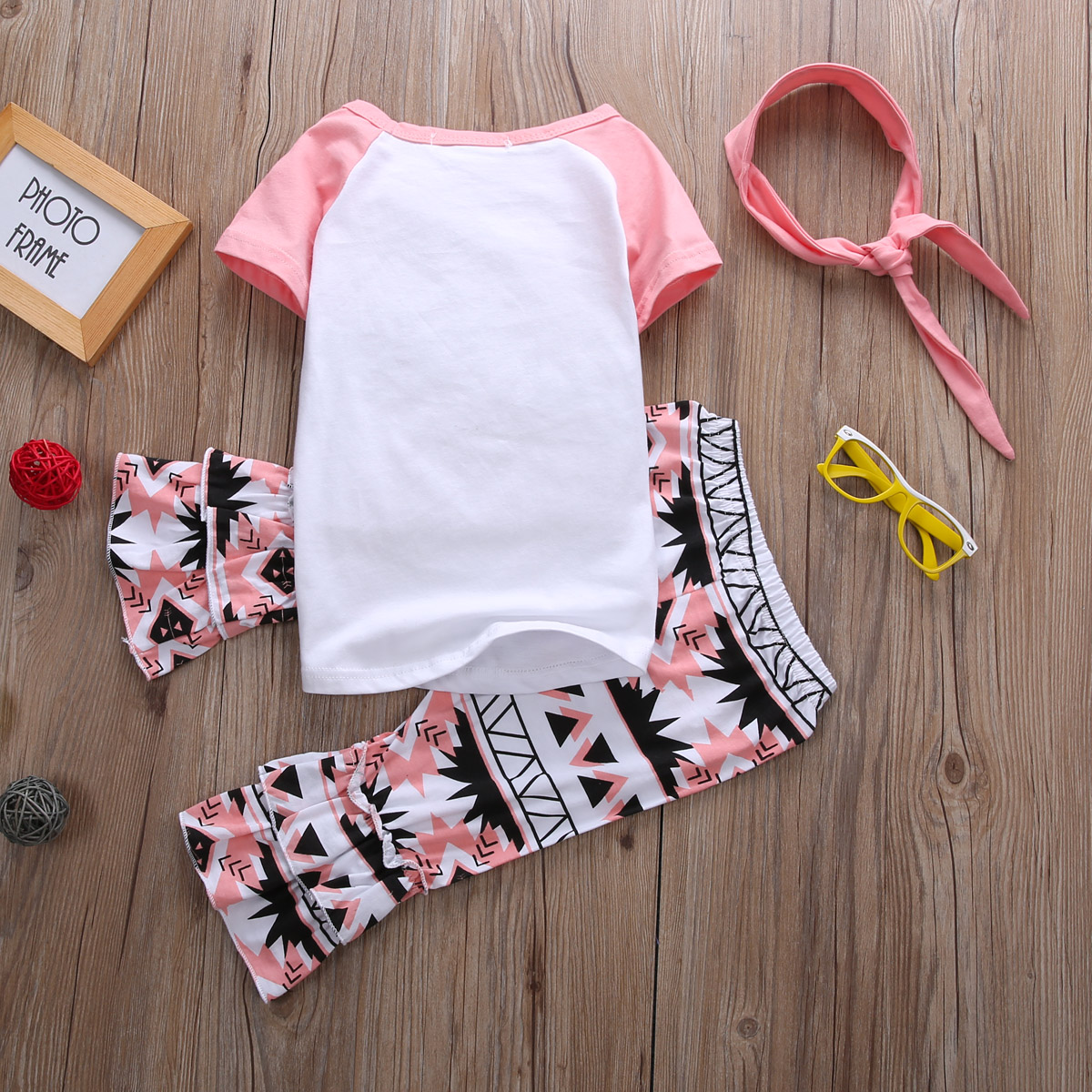 Girls Pajamas Summer Set Child Clothes Cute Baby Girl Set Clothes ... 3f07111ad
