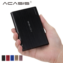 Acasis FA-08US HDD Recinto 2.5 polegada USB 3.0 de Alta Velocidade de Metal External Hard Drive Enclosure Shell para Computador PC SATA HDD SSD(China)