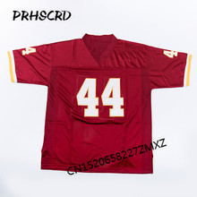 Retro star #44 John Riggins Embroidered Throwback Football Jersey(China)