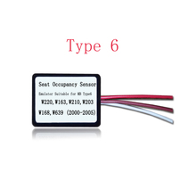 wholesale MB SRS Emulator Type 6 for Mercedes benz W220 W163 W210 W203 W168 W639 seat emulator Airbag reset tool