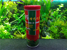Aquarium Ornamental fish food large fish feed for Arowana silver Belt Perch large Cichlids growth increase color 200g big pellet(China)