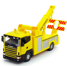DIE CAST METAL 1/43 SCANIA TOW TRUCK WRECKER MODEL TOY REPLICA FREE SHIPPING