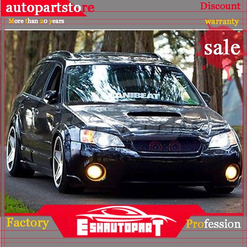 Front Driver Side Bumper Bracket For Outback 05-07 Steel