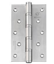 1 pair of  Stainless Steel Door Ball Bearing Hinge SS Finished (5inch *3 inch *3.0mm)