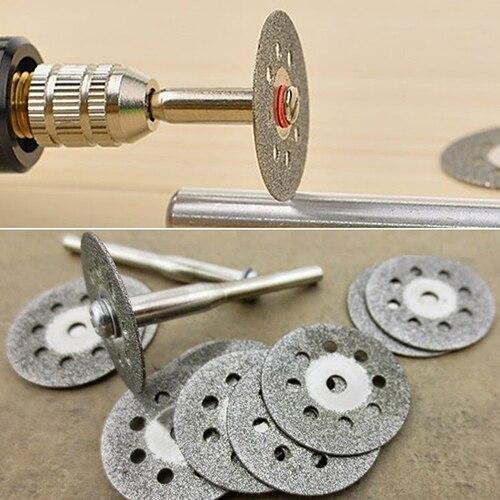 Rotary Tool Circular Saw Blades Cutting Wheel Discs Mandrel For Cutoff  Christmas  Gift  6LEZ<br><br>Aliexpress