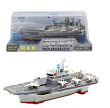 Alloy ship Navy series aircraft carrier model toys for children