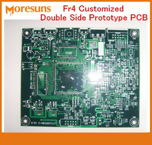 Fast Ship FR4 Customized Double Side Prototype PCB Printed Circuit Board Manufacture and Assembly Small Production runs pcba(China)