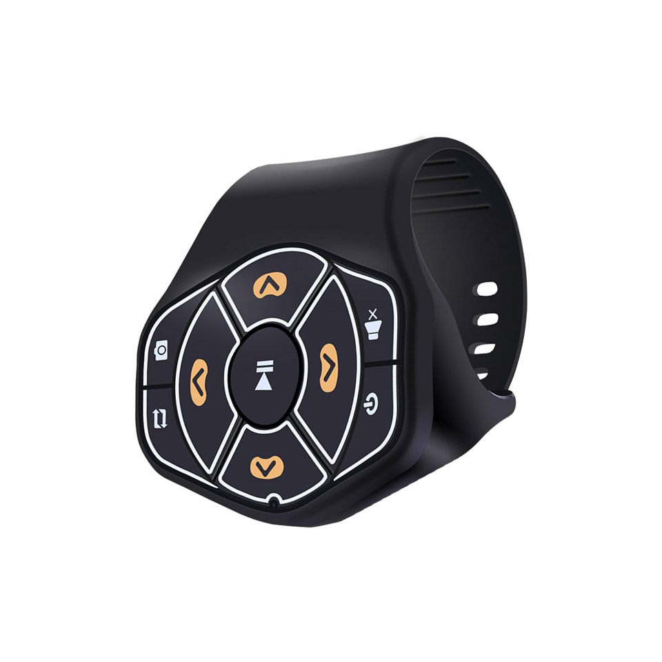 Wireless Bluetooth Universal Steering Wheel Remote Control Media Button Remote Controller Multimedia Music Play for Android iOS