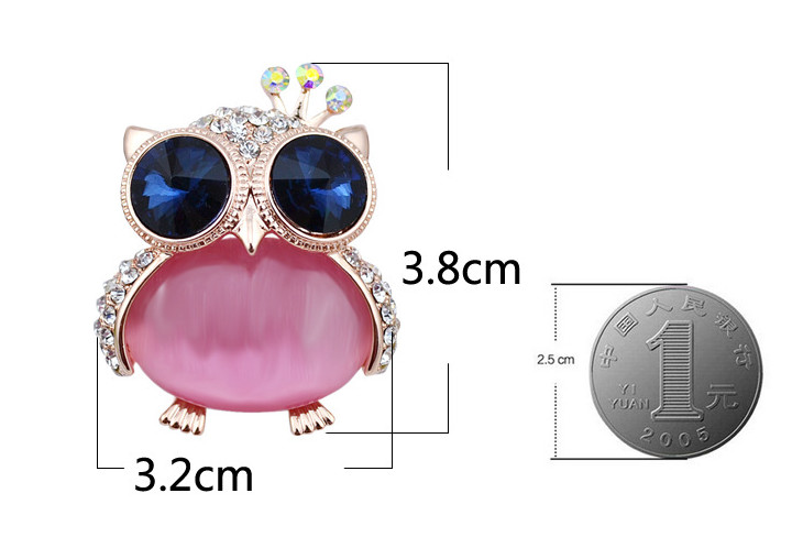opal owl brooches 6