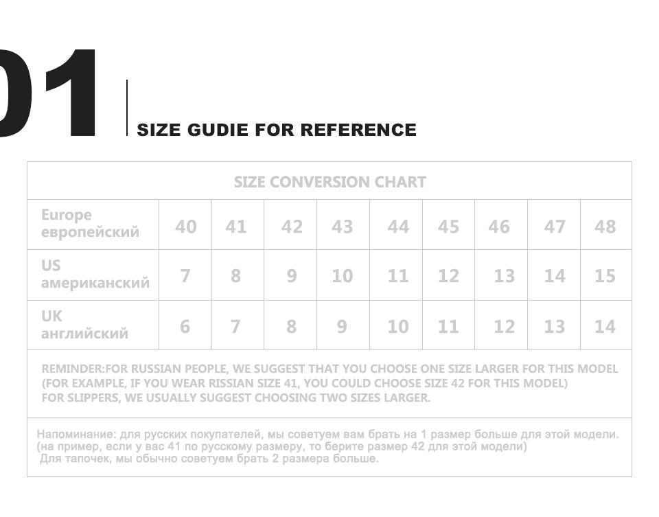 أحذية رجالية كبيرة الحجم 40-48 2