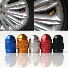 4Pcs/lot Aluminum Motorcycle Bike Car Tyre Tire Valve Caps For ford opel renault mazda vw Car Wheel Airtight Cover Dustproof