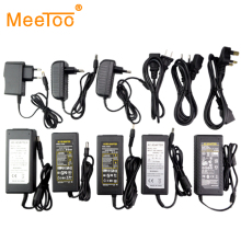 EU/US/UK/AU Plug DC 5V/12V/24V Power Supply 1A/2A/3A/4A/5A/6A/7A/8A Power Adapter Switching Charger For 5050 3528 5630 Led Strip