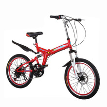 7 speed 20 inch Shock absorption bicycle for man and woman Student bike  foldable bicycle Variable speed folding bike