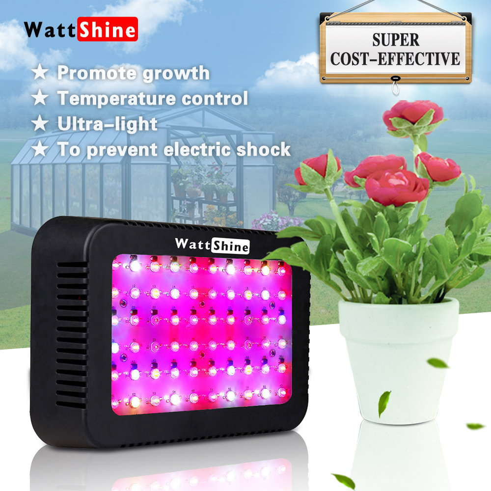 Double chips 300W led grow lights 16 kinds spectrum Flower indoor Lamp for plants Overseas warehours Fast deliver Veg Bloom (7)