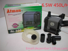 Atman6.5W 450L/H Aquarium Poweheader Submersible Pump Fish Tank Water Pump Liquid Filter Various Outlet Connectors