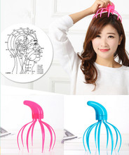 New 2015 Head acupuncture point Neck Scalp Massager Massage Equipment Relax(China)