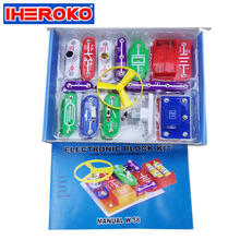 Circuit Stitching Educational Toy Smart Electronic Kit Circuit Learning for Kids IW-58 Educational Physics Learning Development(China)
