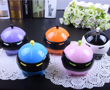 LIUSVENTINA cute adorable ball mask Contact Lens Washer automatic Cleaner Cleaning Lenses Case
