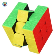 Shengshou 3x3x3 Layers Gem Style Magico Cubo Smooth Non Stickers Puzzle Speed Game neo Cube Cool Toys(China)