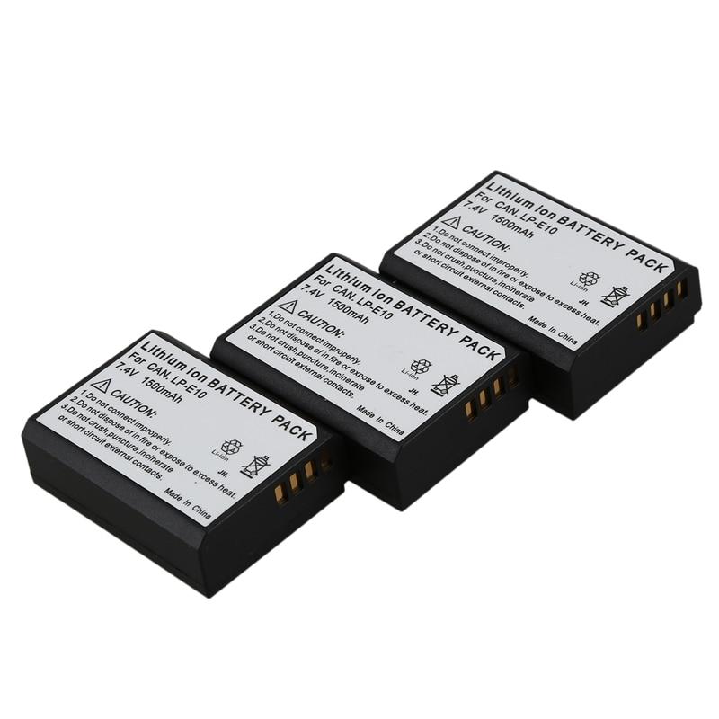Premium batería BATTERY 850mah reemplaza Canon EOS 1100d 1200d Rebel t3 t5 t6