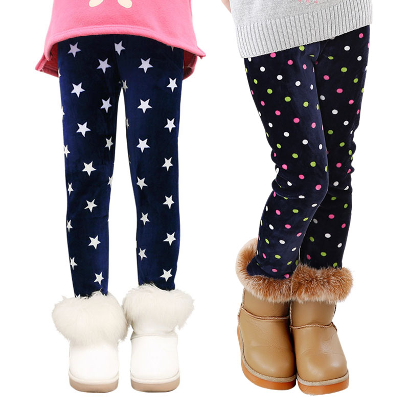 High quality Children Pants Autumn Winter Baby Colorful Print Flower Butterfly Girls Pants Leggings(China (Mainland))