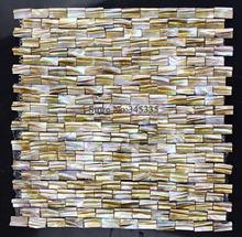New style 3D natural shell mosaic tile mother of pearl kitchen tile shower background bathroom backsplash wall paper home tiles