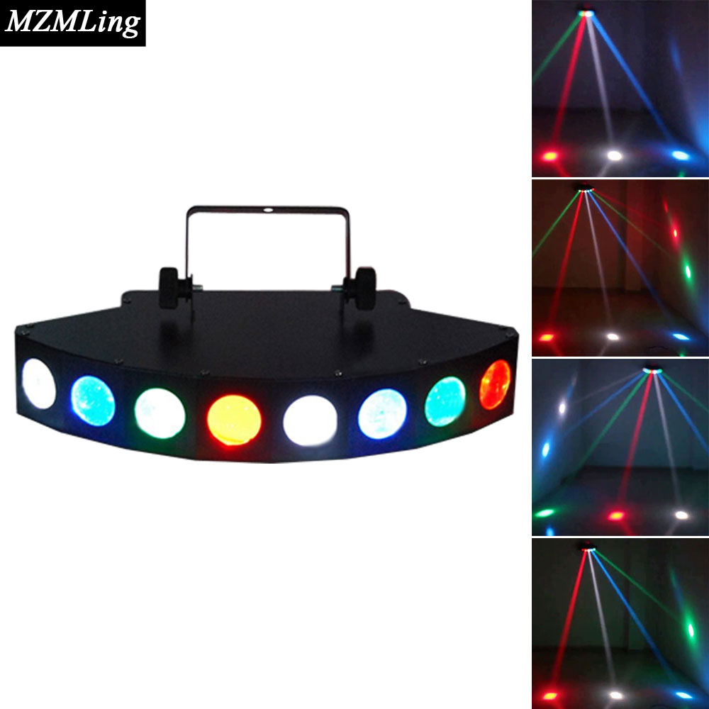Hot 8*3w CREE LED Beam Light 8 Eyes RGBW LED Light DMX512 Stage Light DJ/Fest/Home / Bar /Stage /Party Light Stage Machine<br><br>Aliexpress