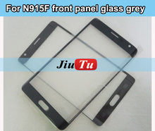 10 Pcs/lot For Samsung Note 4 Edge SM-N915F LCD Digitizer Touch Panel Front Glass Lens Replacement Black