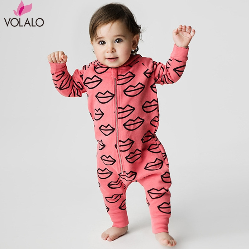 Fashion 2017 Baby Boys Romper Girls Jumpsuit Kids Clothing Newborn Cartoon Baby Body Suit Long Sleeve Baby Clothes<br><br>Aliexpress