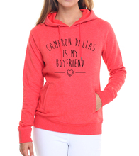tracksuit pink pullovers women long sleeve sweatshirts 2017 female brand harajuku CAMERON DALLAS IS MY BOYFRIEND kawaii hoodies(China)