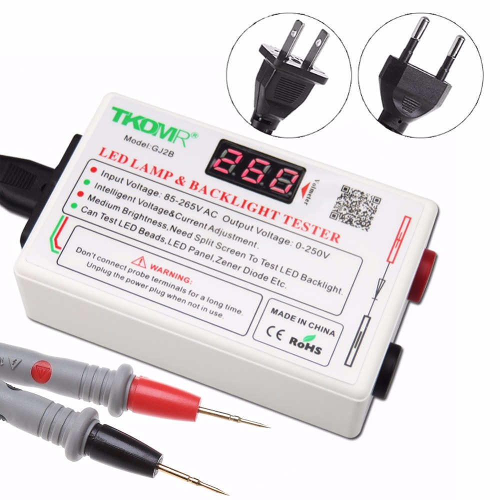 TKDMR 0-300V Smart-Fit Voltage Test LED Backlight Tester Tool For LED LCD TV Laptop Free Shipping<br>