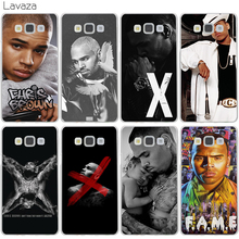 Christopher Maurice Chris Brown Case for Samsung Galaxy A3 A5 J5 2015 2016 2017 J3 J5 Grand Prime J7 Note 2 3 4 5
