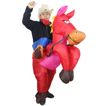 christmas costumes Funny Red Horse Inflatable Women Cosplay Costume for Carnival, Free Shipping halloween costumes for women