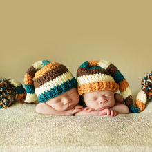 Baby Newborn Photography Props Winter Baby Caps Hat Christmas Crochet Knit Hat Beanie Newborn Photography Accessories Fotografia