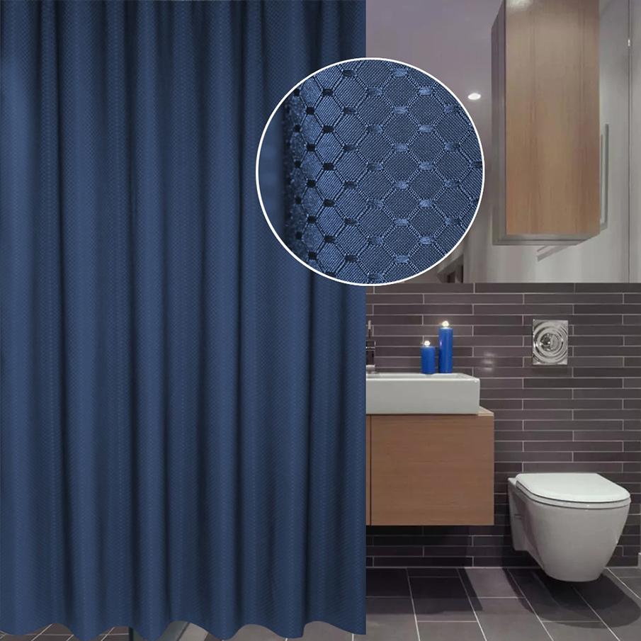 Blue Shower Curtain 16