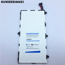 4200mAh T4000E Tablets Battery For Samsung Galaxy Tab 3 7.0 SM T210 T211 T215 GT P3210 P3200 Rechargeable Lithium Batteries(China)