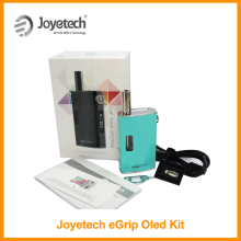 Big Sale Original Joyetech eGrip OLED Kit Gift leather Case 1500mah Battery 3.6ml eliquid Tank Vape Vaporizer