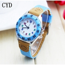 students Sports Watches 2016 New Arrival Fabric Strap Climbing Military Quartz Wrist Watches Christmas gift Kids Watches