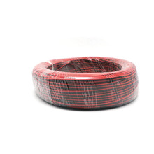 100M/lot 2 Pin back red cable connector extension connecting wire welding cord cable for LED Strip Downlight bulb spotlight