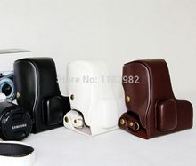 High Quality Leather case bag for Samsung Galaxy nx300 NX 300 NX-300 Camera bag  Exempt postage + tracking number