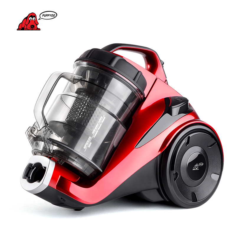 PUPPYOO Europe Energy Efficiency Standard Canister Vacuum Cleaner for Home Multi-system Cyclone Vacuum Cleaner WP9002B()