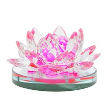 "3.4"" Car Perfume Decoration Acrylic Lotus Car Perfume Seat Auto Air Freshener Car Accessories Suppliers 6 colors(China)"
