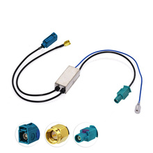 DAB Fakra to SMA Connector Aerial Antenna Splitter Car Stereos DAB Installed(China)
