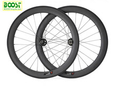 2017 latest carbon disc brake wheel!700C 60mm tubular road bike wheelsets cyclocross ride One piece model none folds meat suface