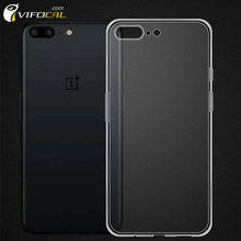 "OnePlus 5 Case 5.5"" TPU Silicon Soft Comfortable Anti-Knock Protective Back Cover For One Plus Five Phone"
