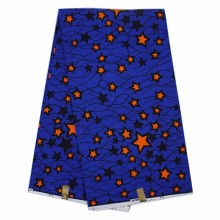 blue Nigeria design textile 100% cotton African hollandais Wax fabric material Printed batik for sewing clothing 6 yards/lot  (